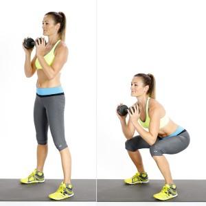 Zoom technique du coach: squat